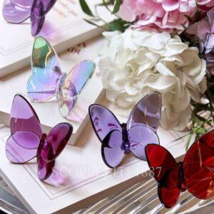 baccarat lucky butterflies