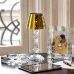 baccarat candleholder gold philippe starck