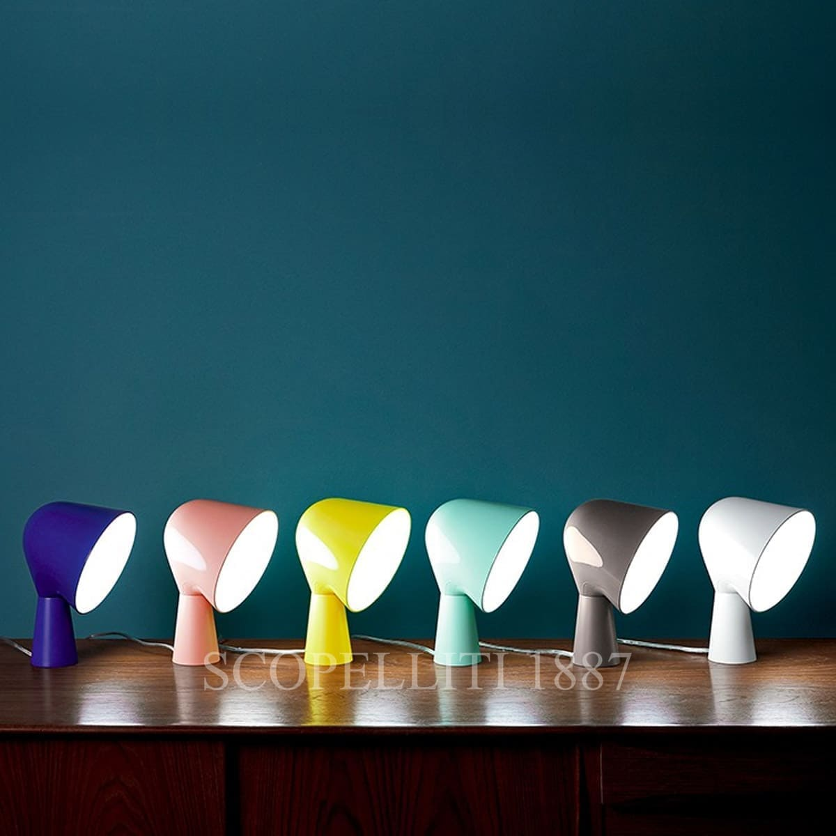 foscarini italian lighting table lamp binic colours