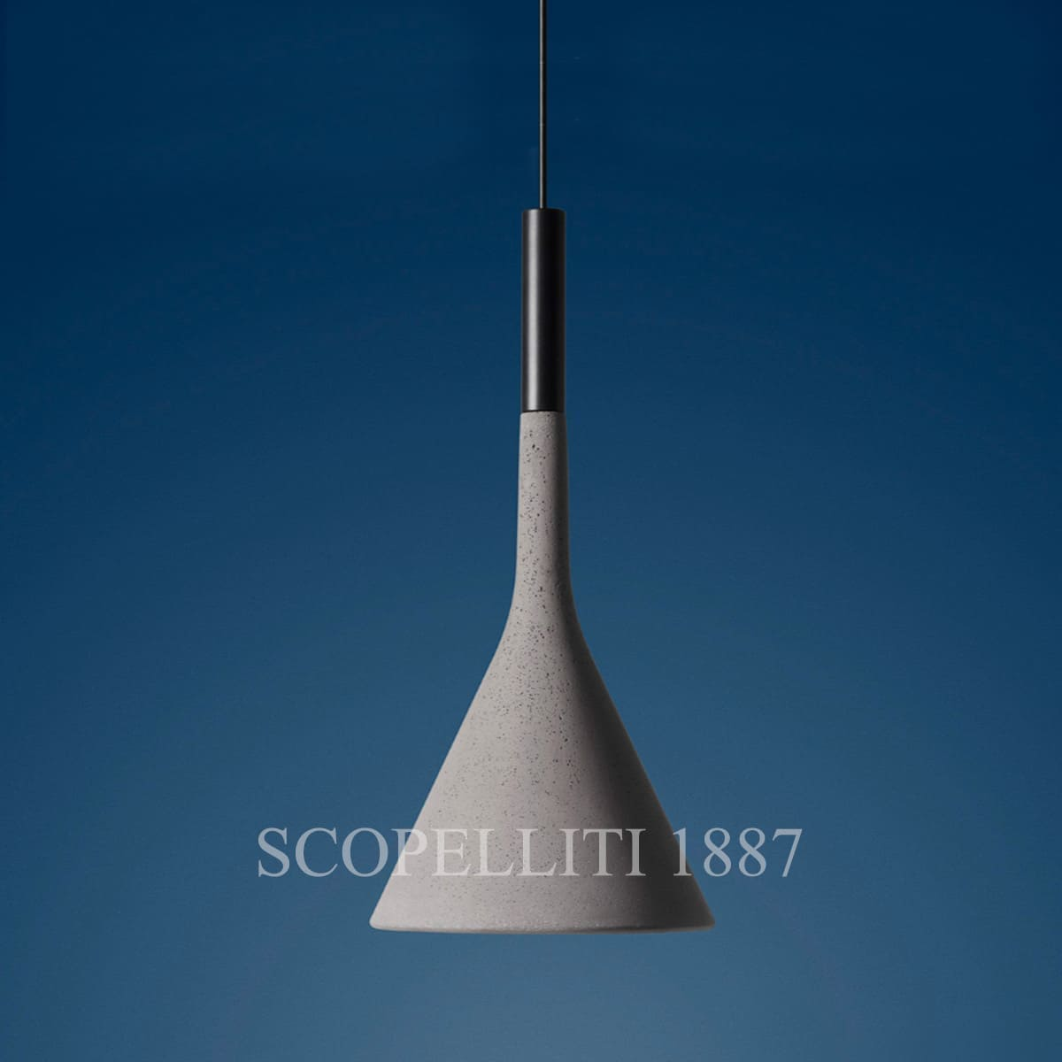 Foscarini Aplomb Grey Outdoor Suspension Lamp