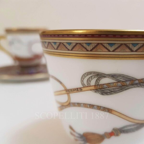 coffee cup hermes cheval dorient