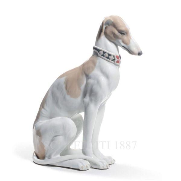 lladro porcelain dog figurine