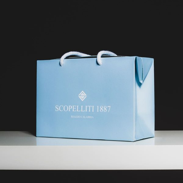 scopelliti 1887 official shopper bag