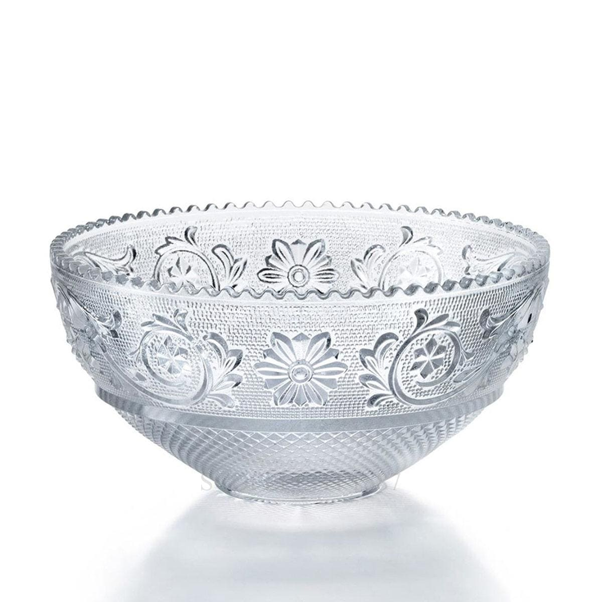 baccarat crystal french design arabesque bowl with gift box