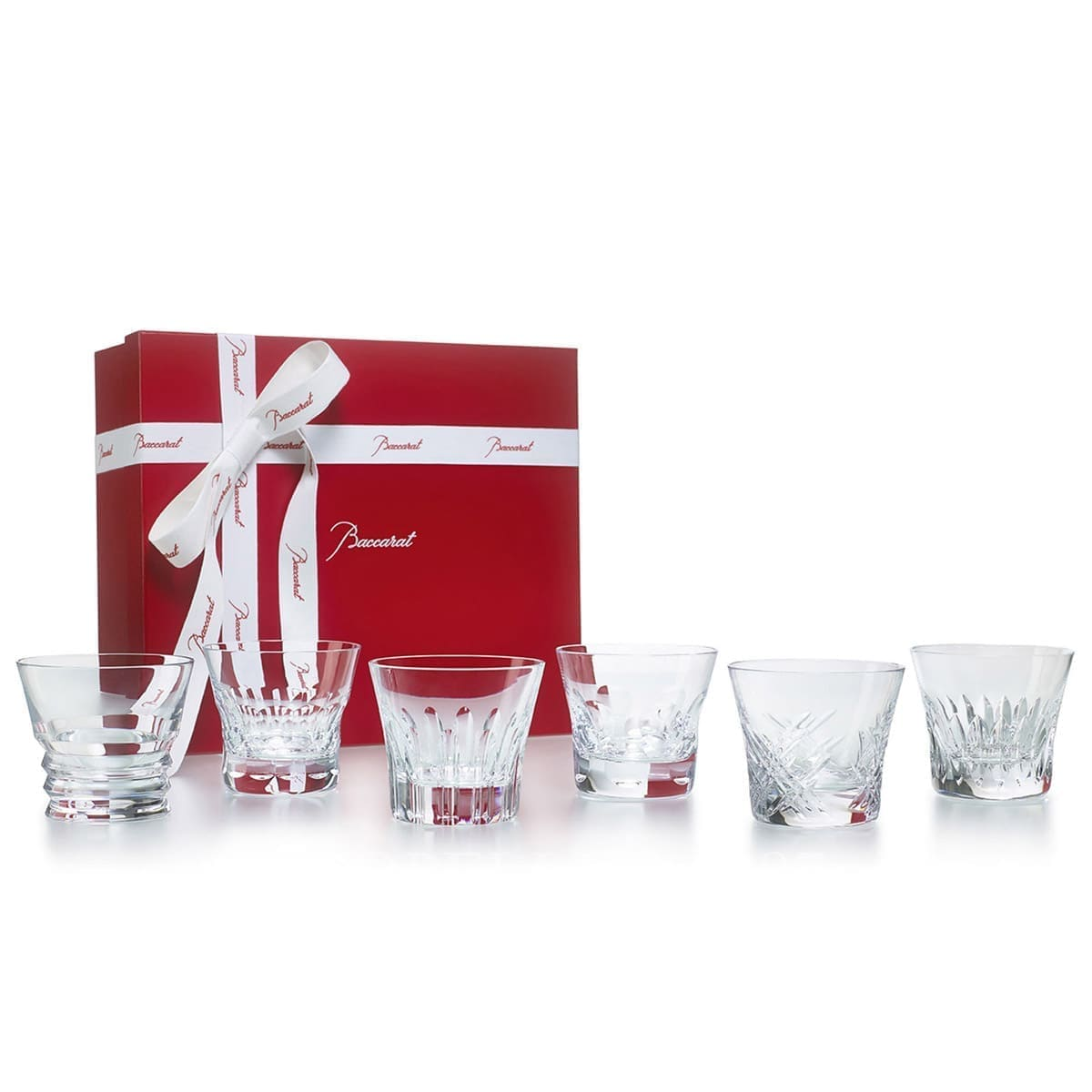baccarat crystal french design tumbler set collection