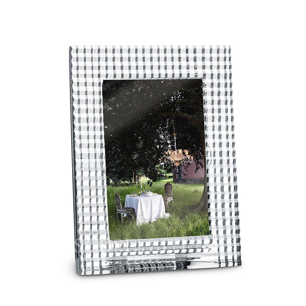 baccarat crystal french design eye photo frame