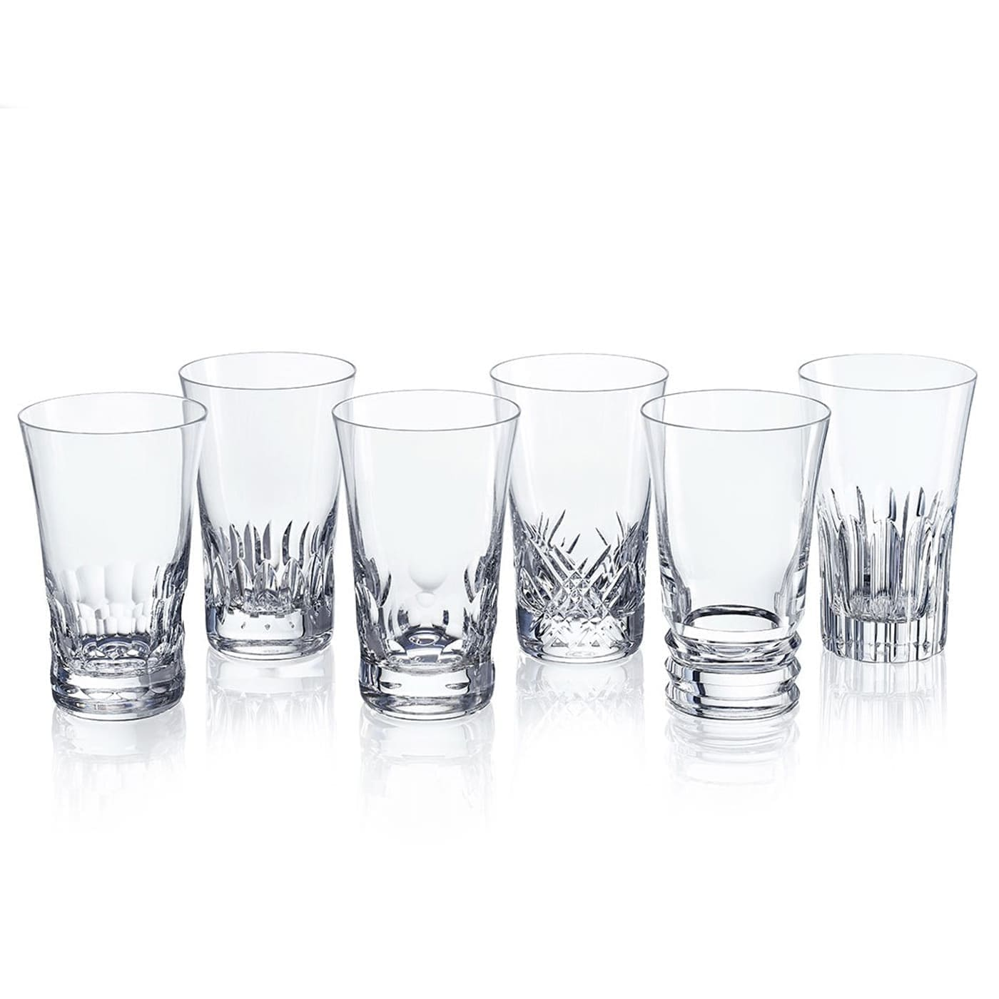 baccarat crystal french design everyday crystal highball set
