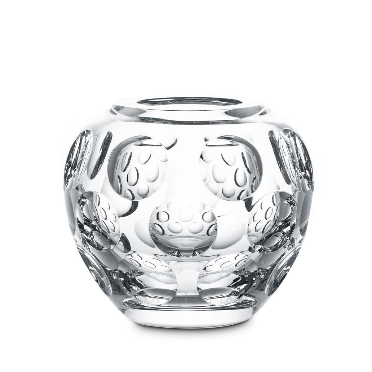 baccarat crystal french design heritage pontil vase