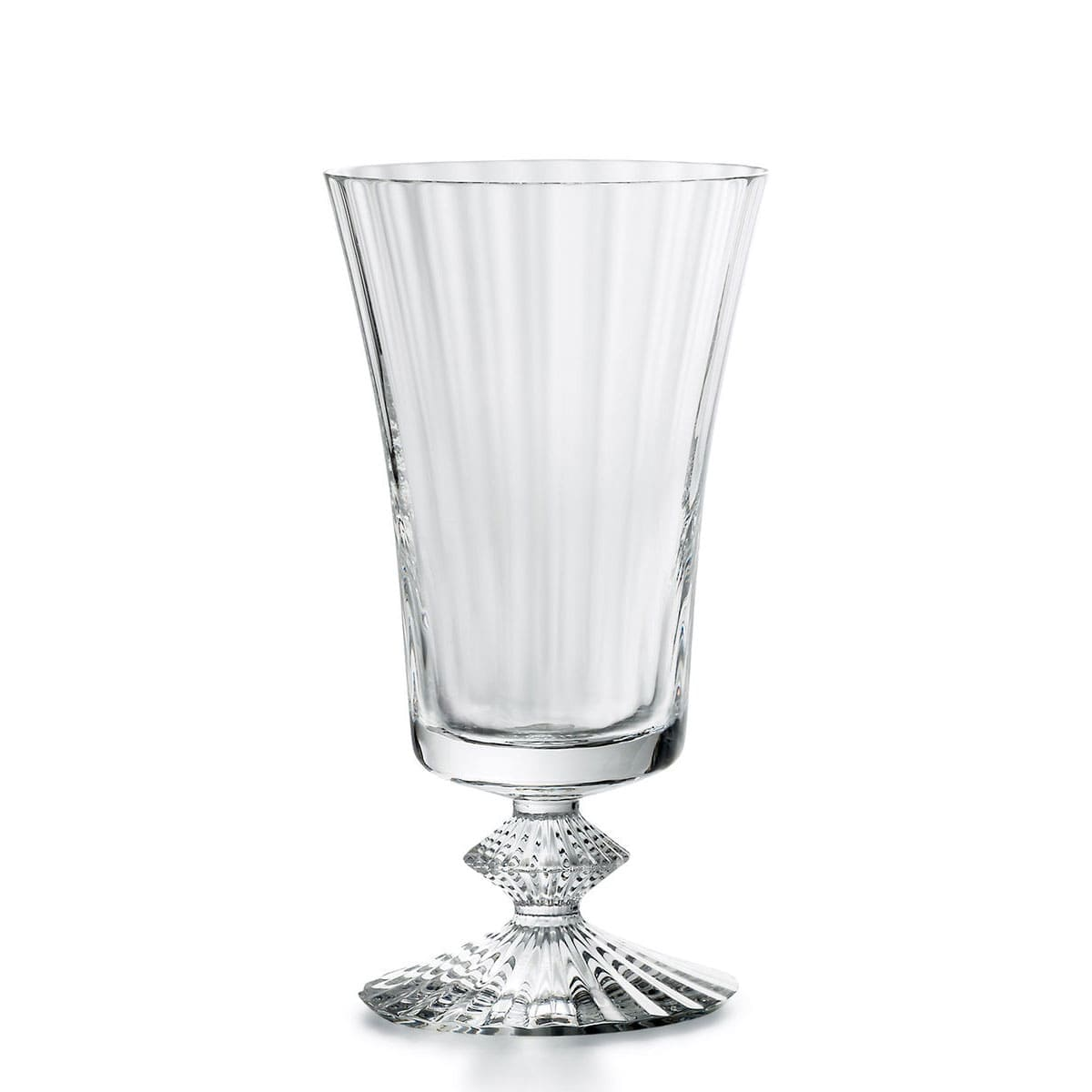 baccarat french design small crystal red wine glass