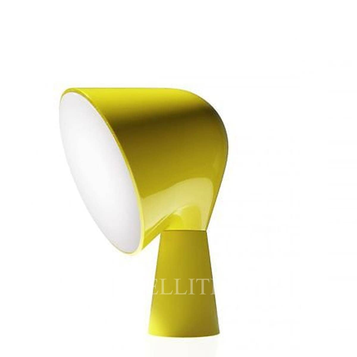 foscarini italian designer binic table lamp yellow