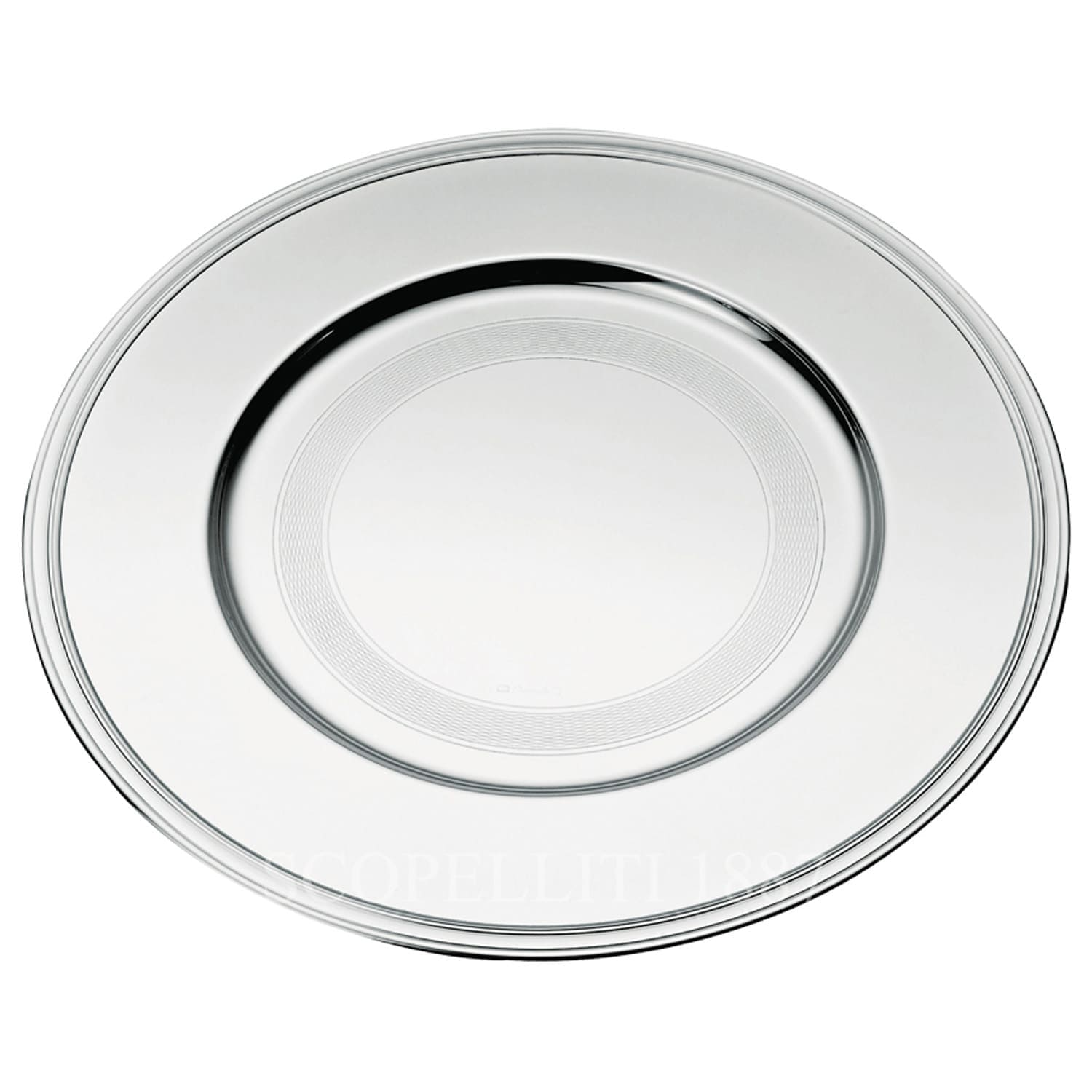 christofle albi silver plated presentation plate