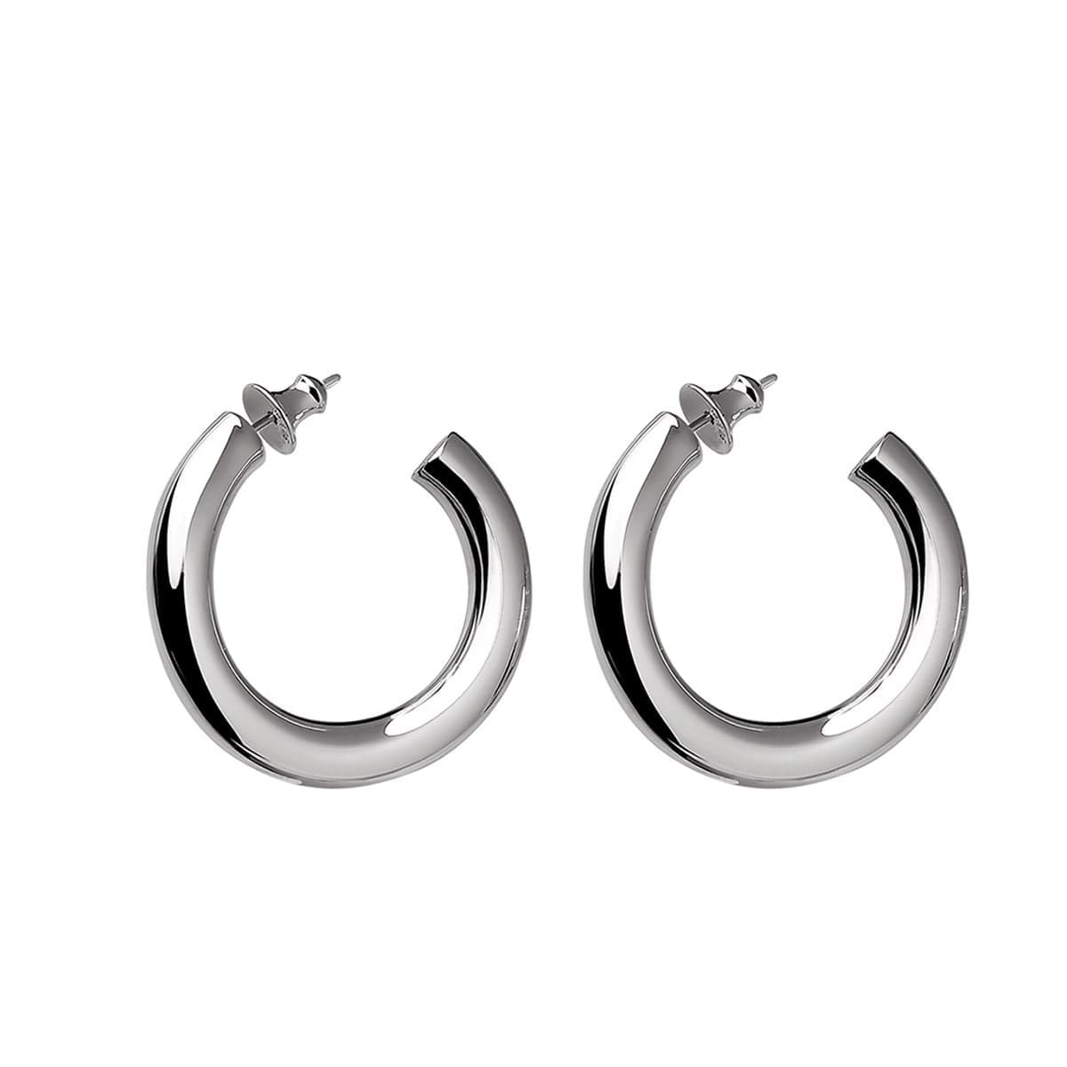 christofle sterling silver earrings