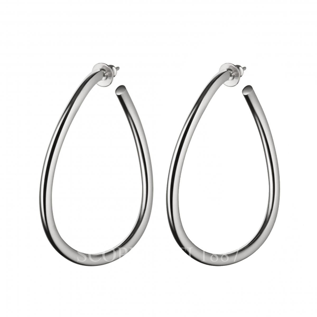 christofle sterling silver earrings