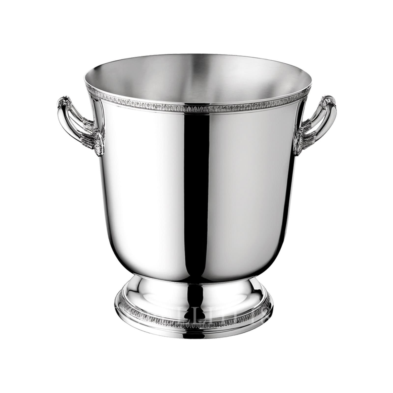christofle silver plated malmaison ice bucket