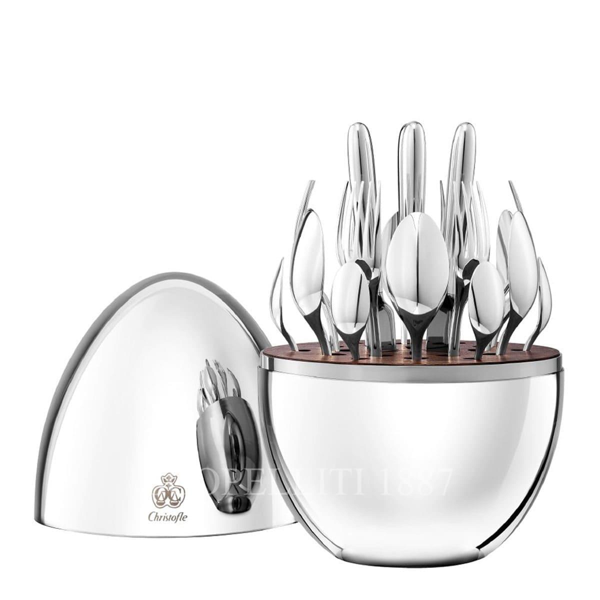 mood christofle silver plated flatware