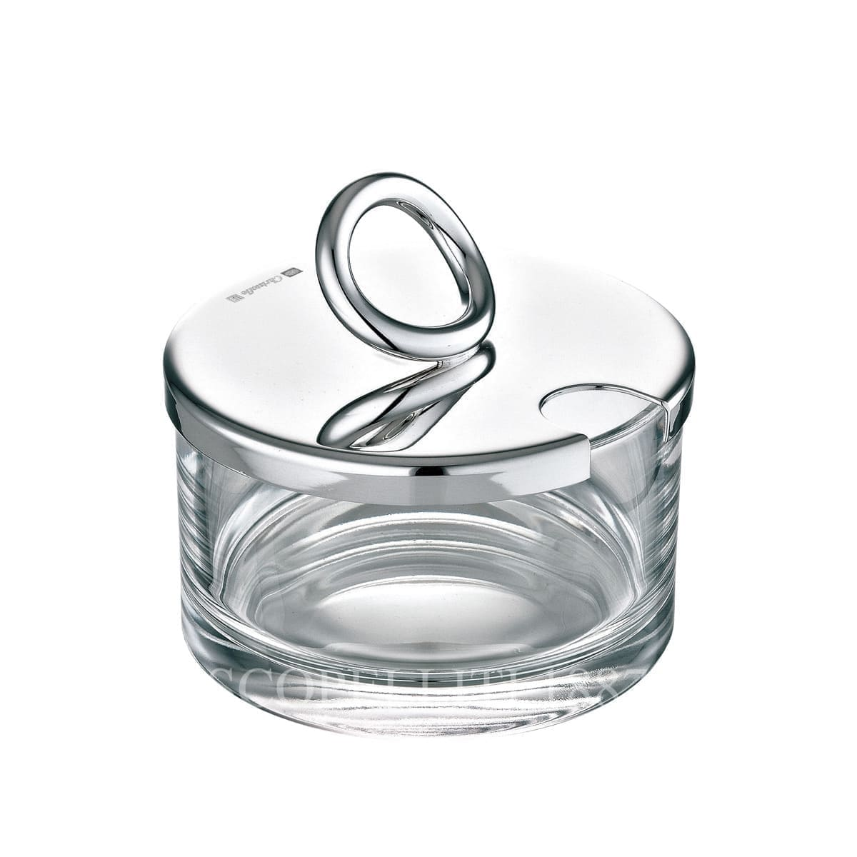 christofle silver plated vertigo cheese dish