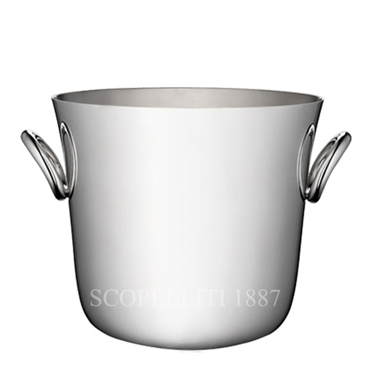 christofle silver plated vertigo ice bucket