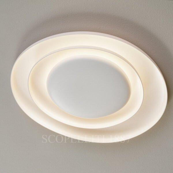 foscarini led bahia ceiling wall lamp large