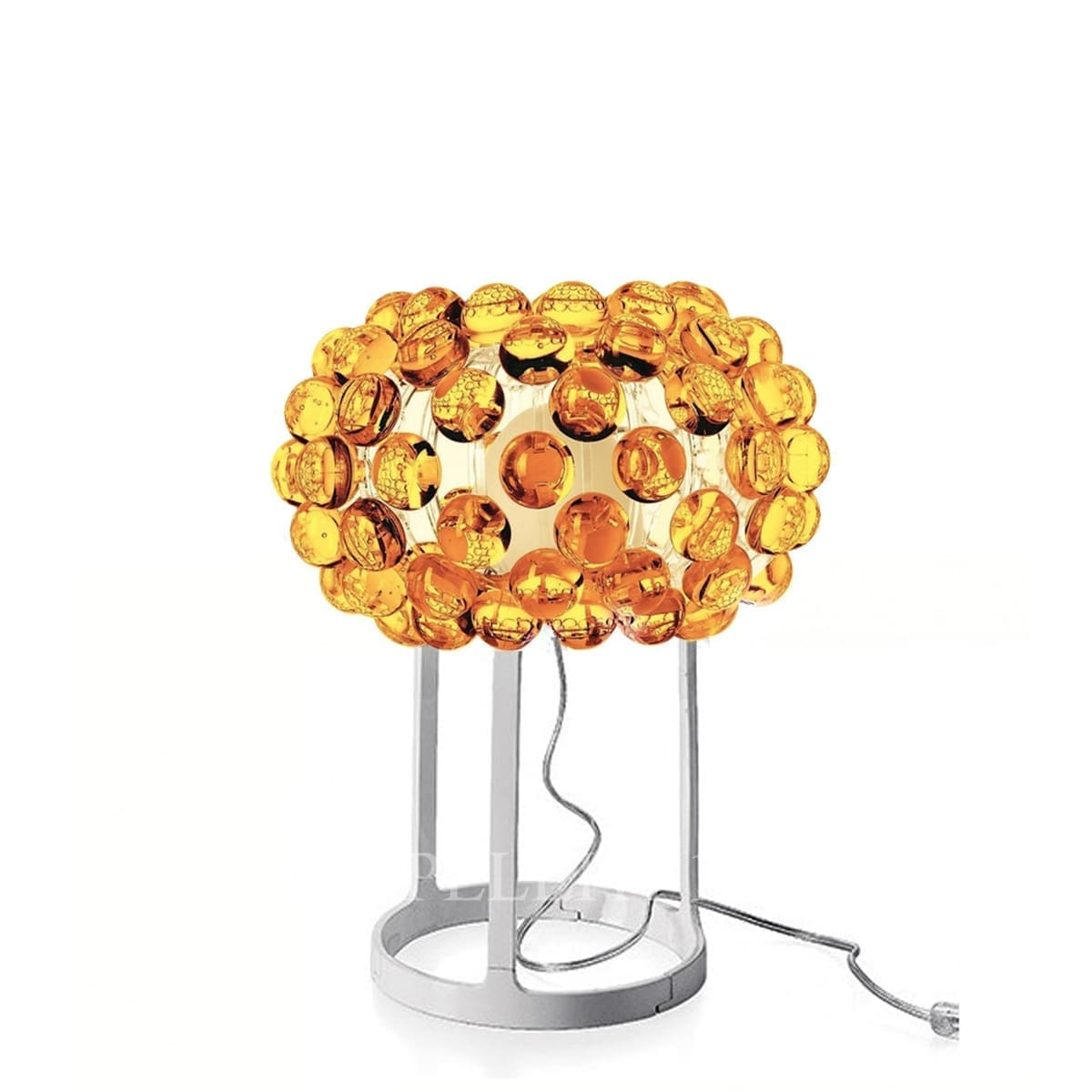 foscarini italian designer caboche table lamp gold