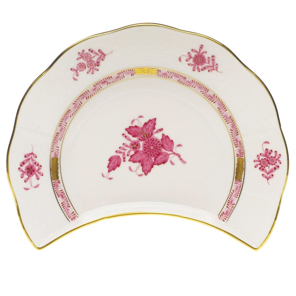 Herend Apponyi Crescent Salad Plate 530 AP Pink
