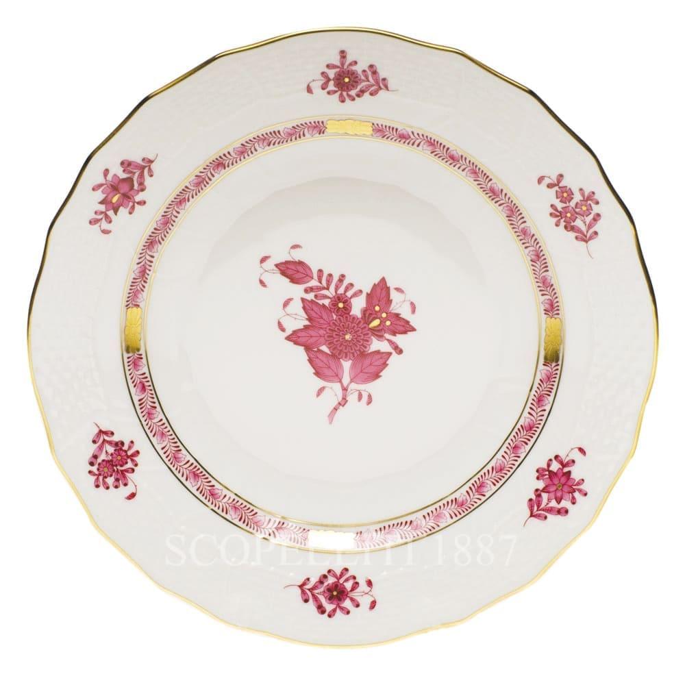 herend porcelain apponyi dessert plate pink