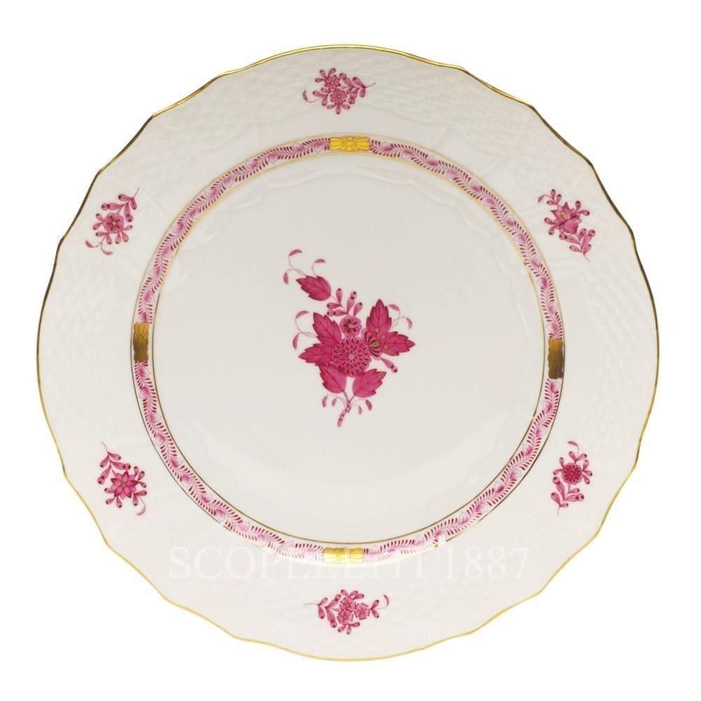 herend porcelain apponyi dinner plate pink
