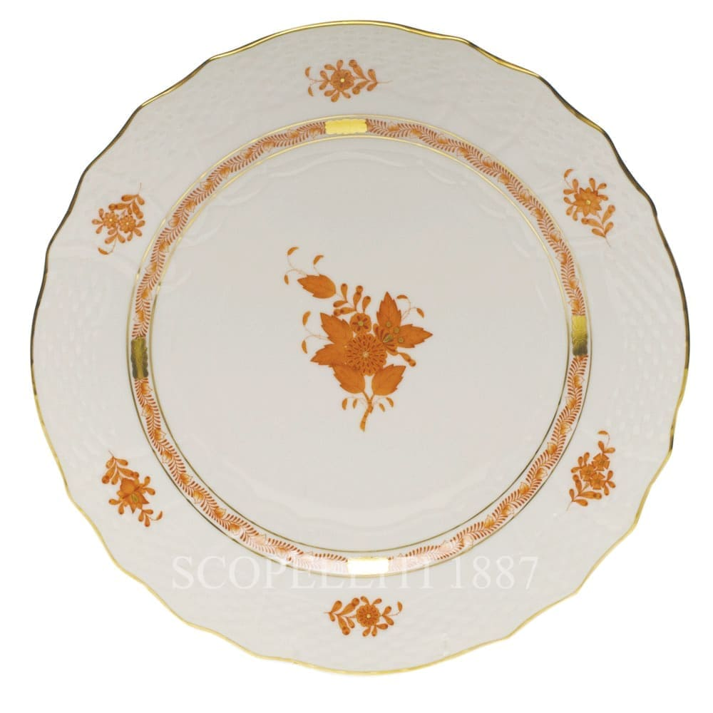 herend porcelain apponyi dinner set orange