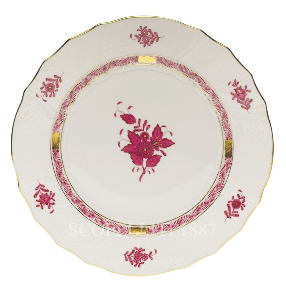 Herend Apponyi Dinner Set for 12 Persons 41 pcs AP Pink Rocaille