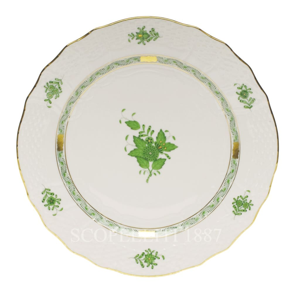 herend porcelain porzellan apponyi handpainted china dinner set green