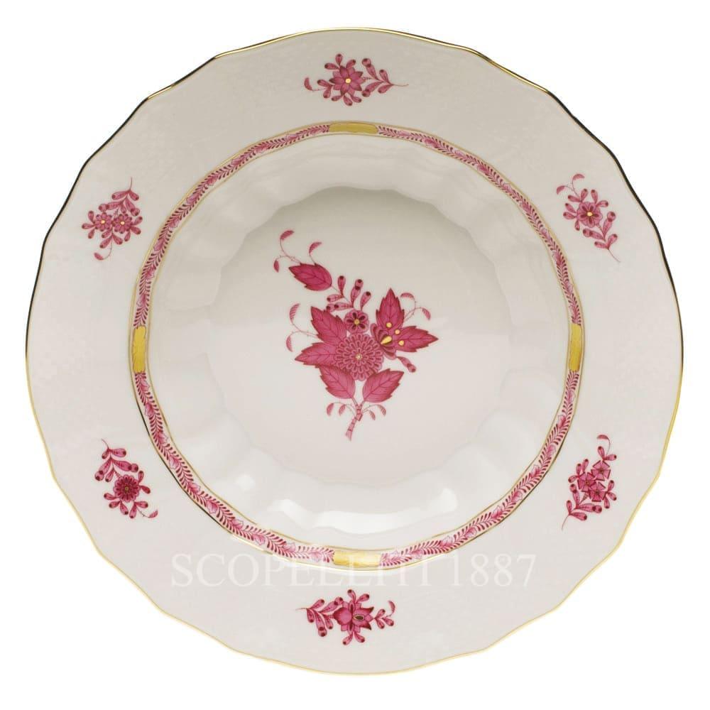 Herend Apponyi Rim Soup Ø 24,5 cm 1503 AP Pink