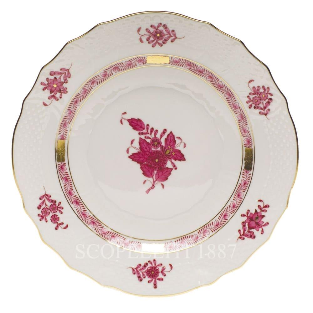 herend porcelain apponyi salad plate pink