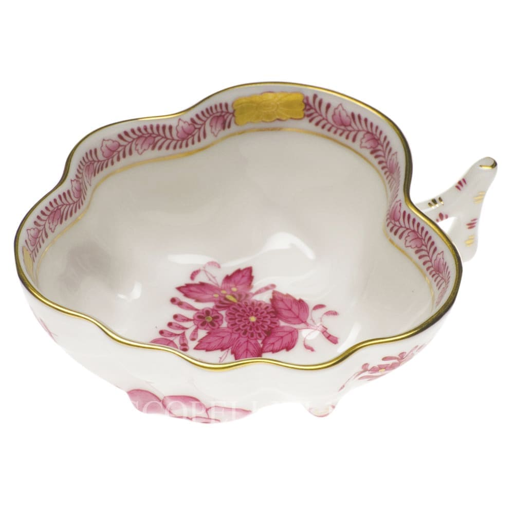 herend porcelain apponyi sugar bowl pink