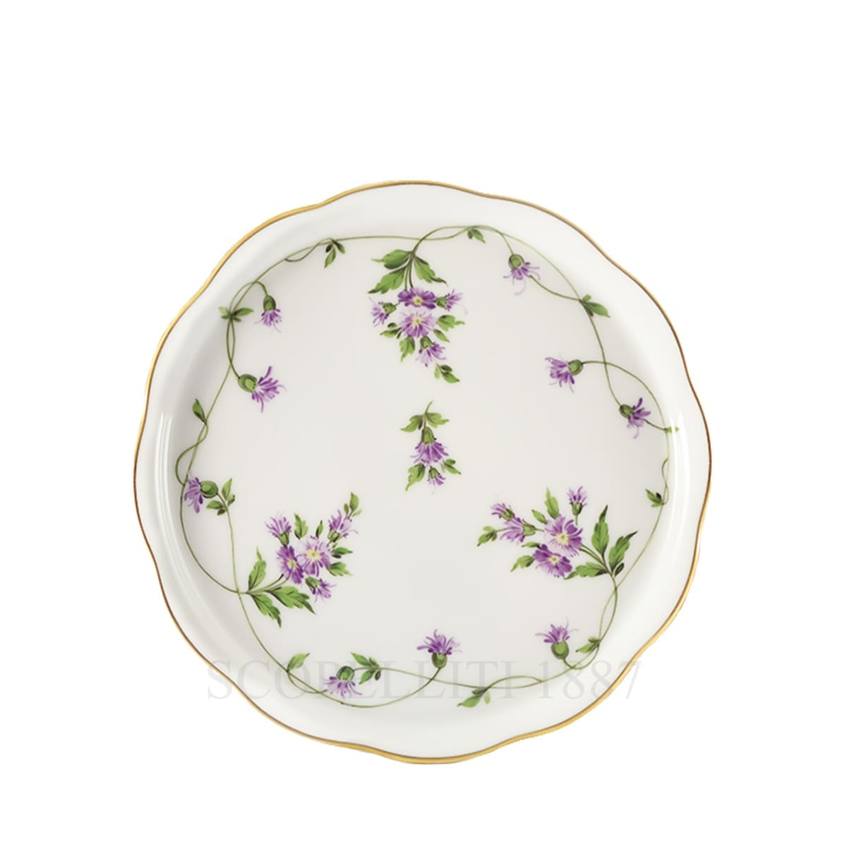 herend handpainted porcelain coaster