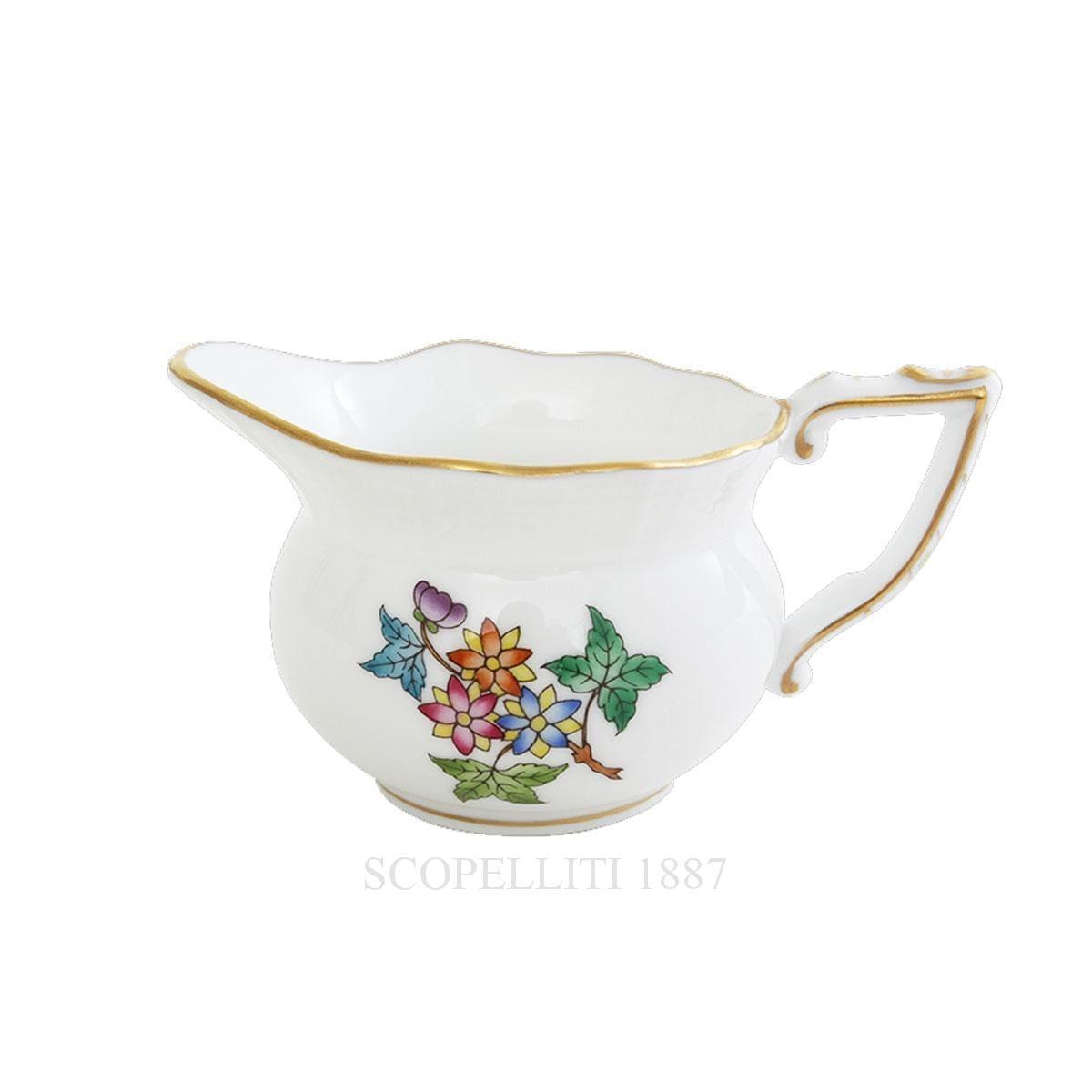 herend porcelain queen victoria creamer