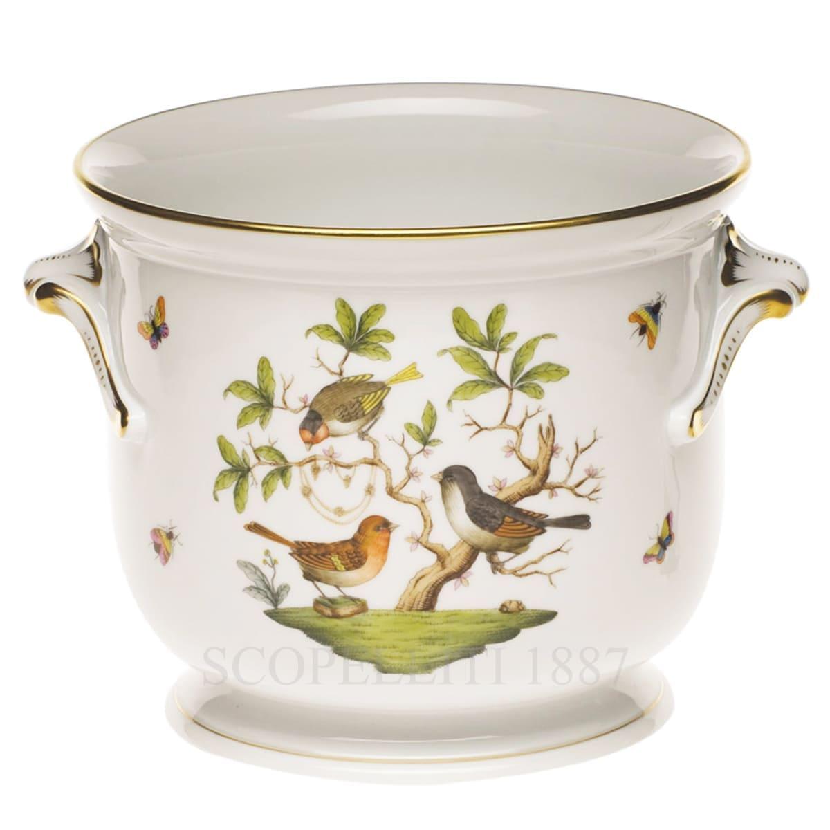 herend porcelain rothschild cachepot