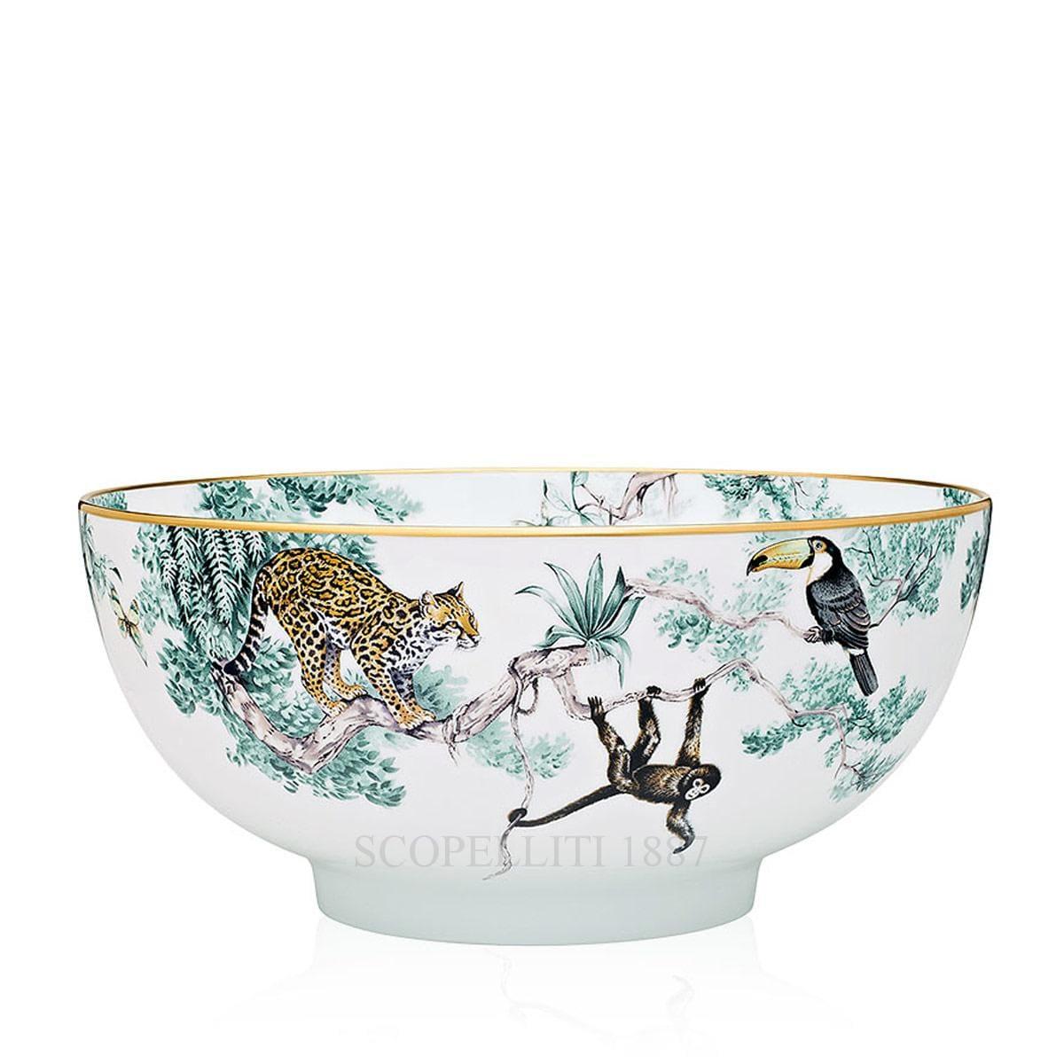 hermes paris carnets dequateur designer porcelain salad bowl