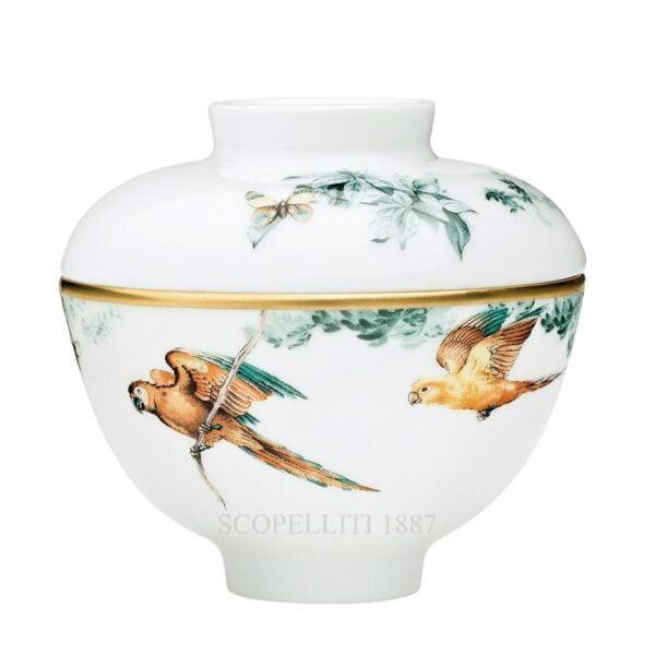 hermes paris carnets dequateur designer porcelain sugar bowl