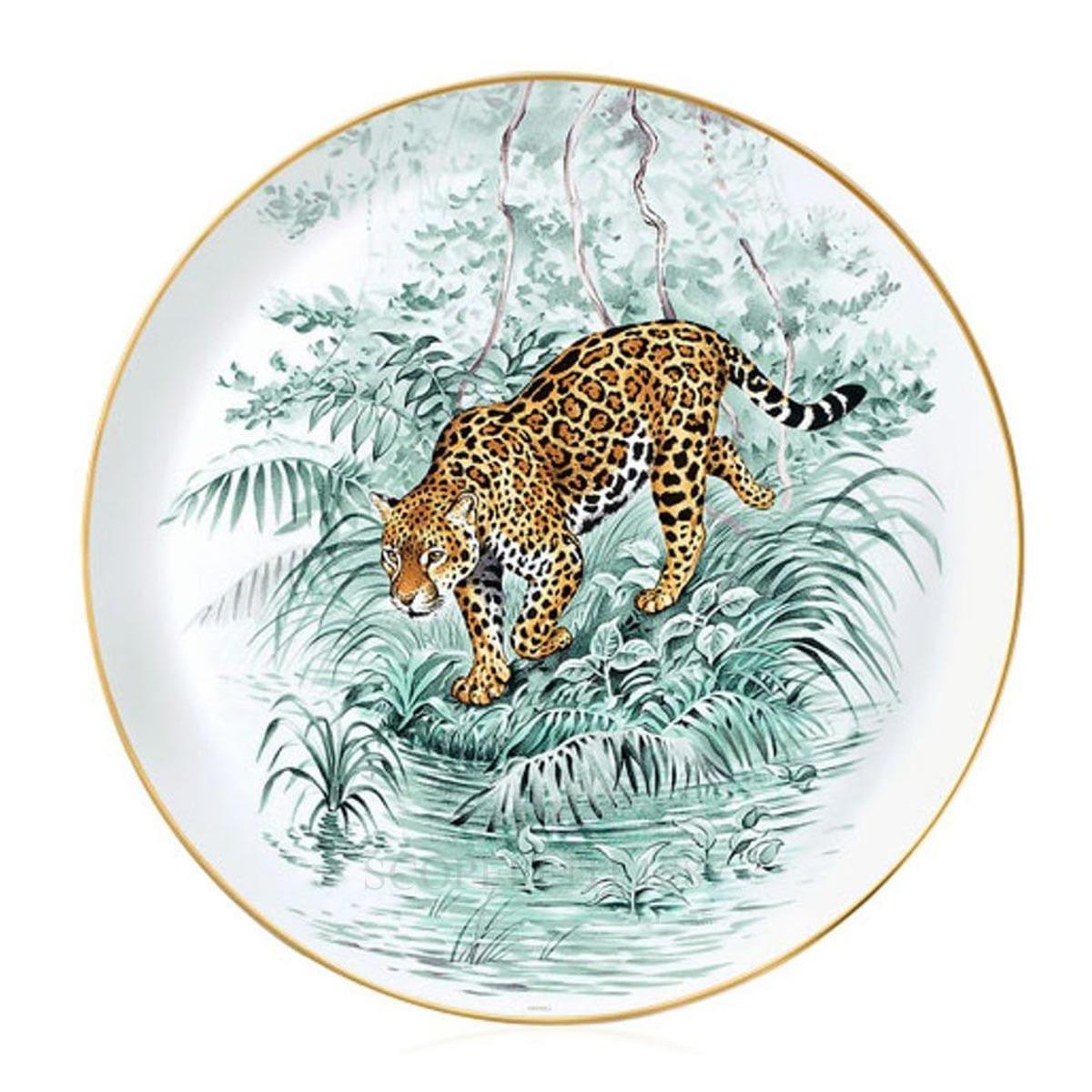 Hermes Carnets d'Equateur Tart Platter
