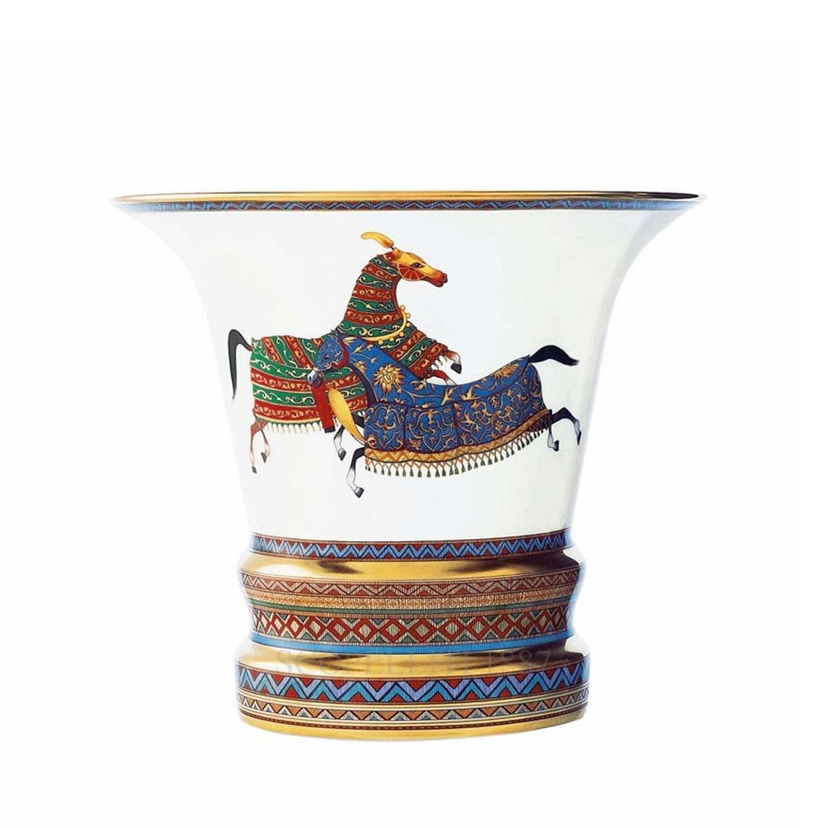 Hermes Cheval d'Orient Vase large model