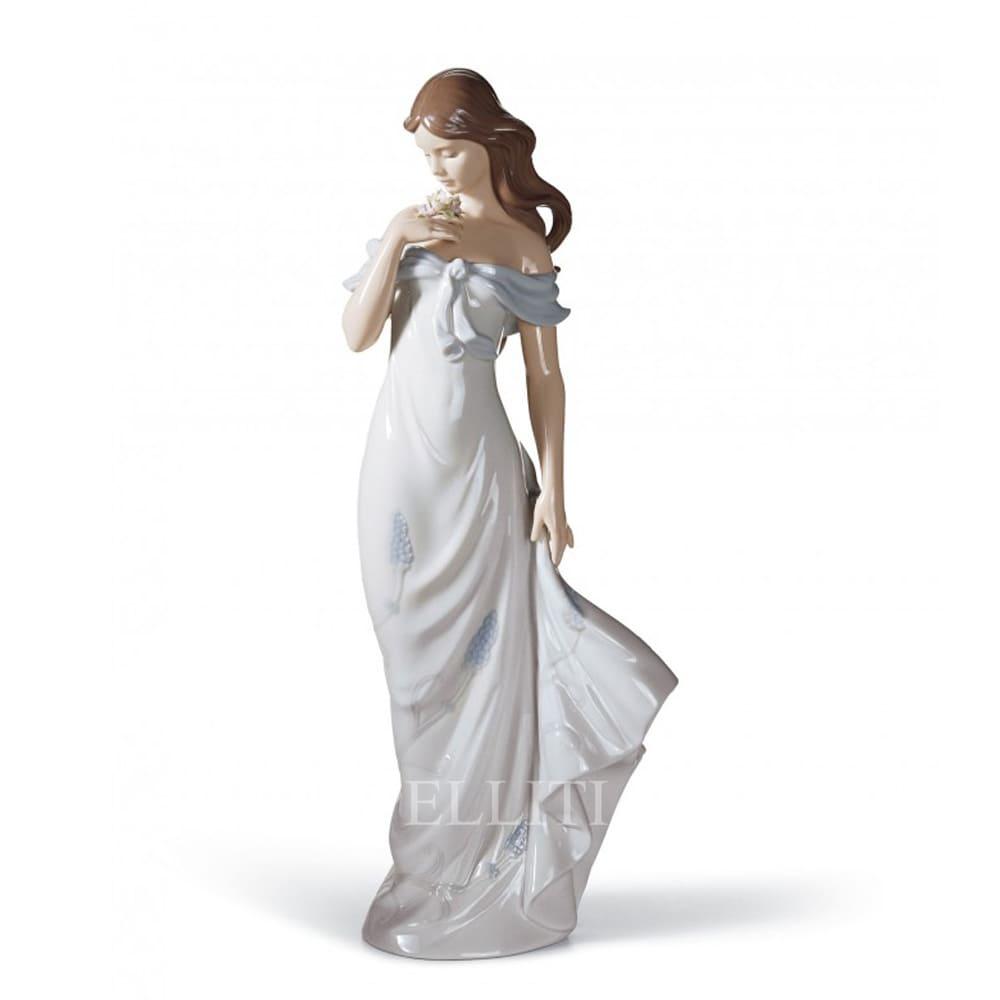 lladro a flowers whisper porcelain figurine spanish designer