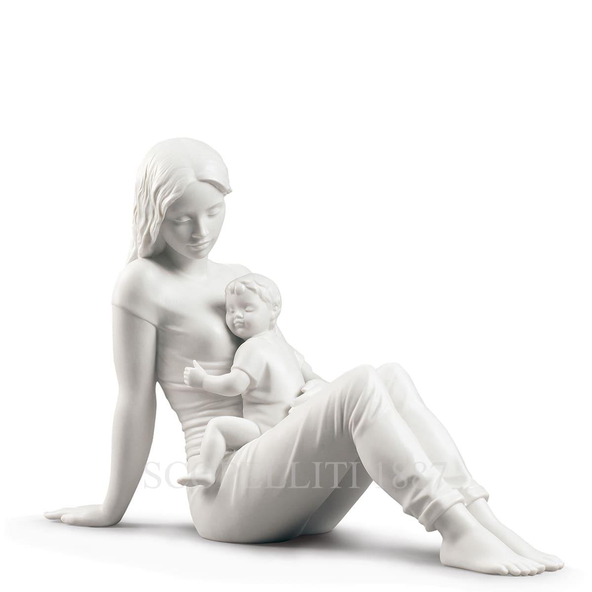 lladro porcelain figurine mothers love spanish designer