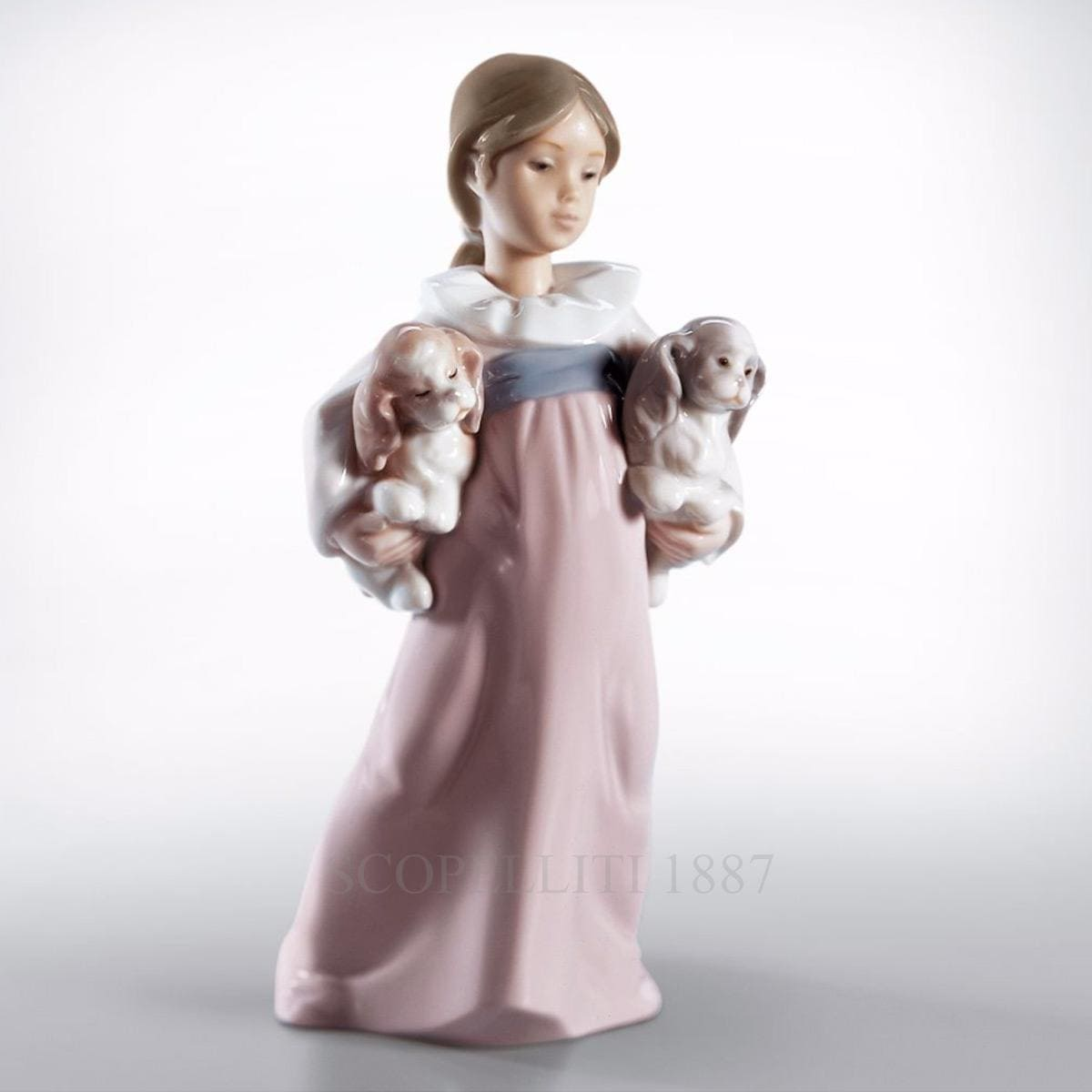 Lladró Arms Full Of Love Porcelain Figurine