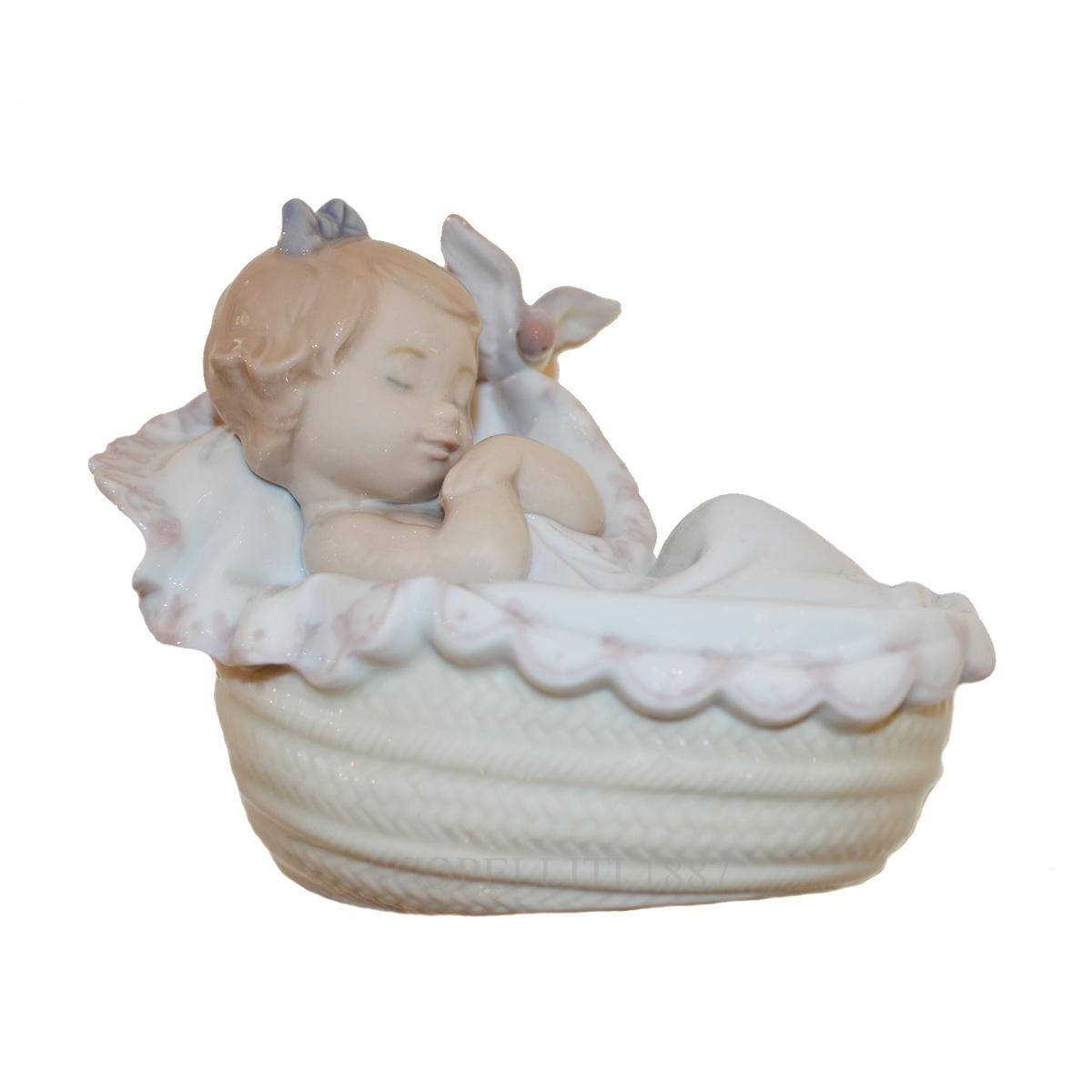 lladro conforting dreams porcelain figurine spanish designer