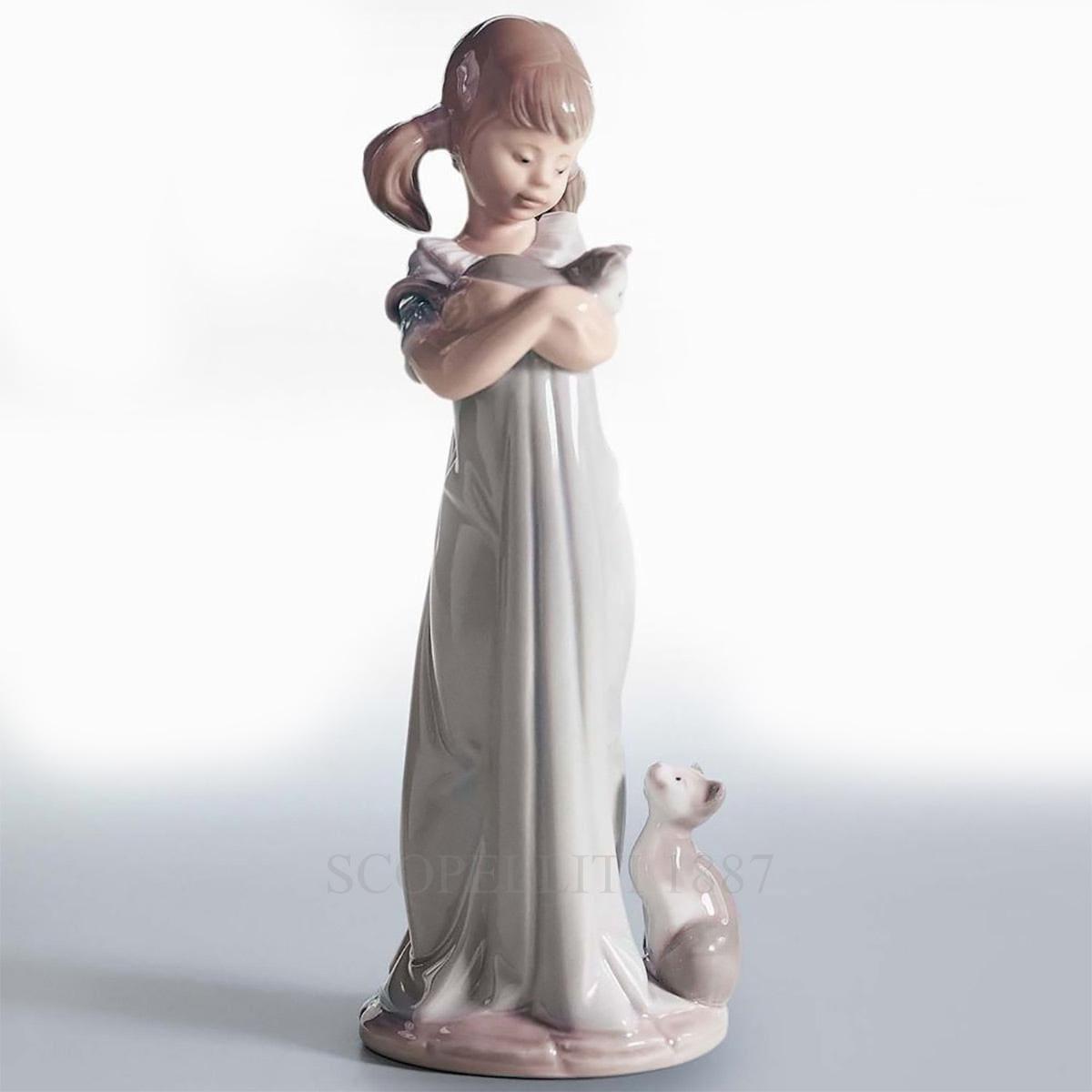 lladro dont forget me porcelain figurine spanish designer