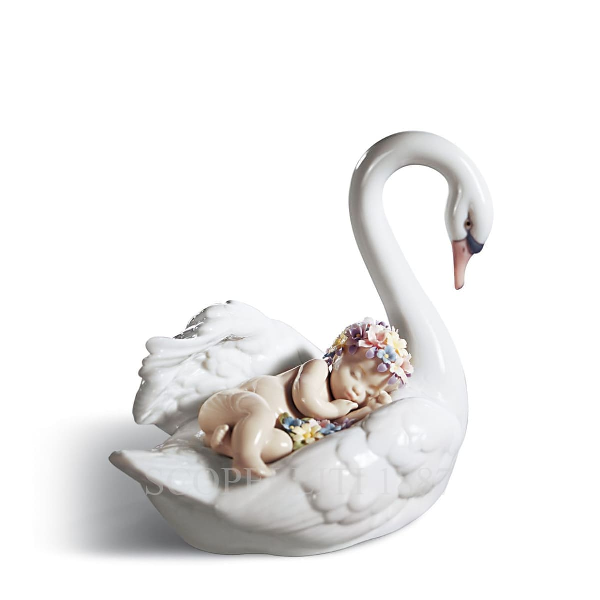 lladro drifting through dreamland porcelain figurine spanish designer