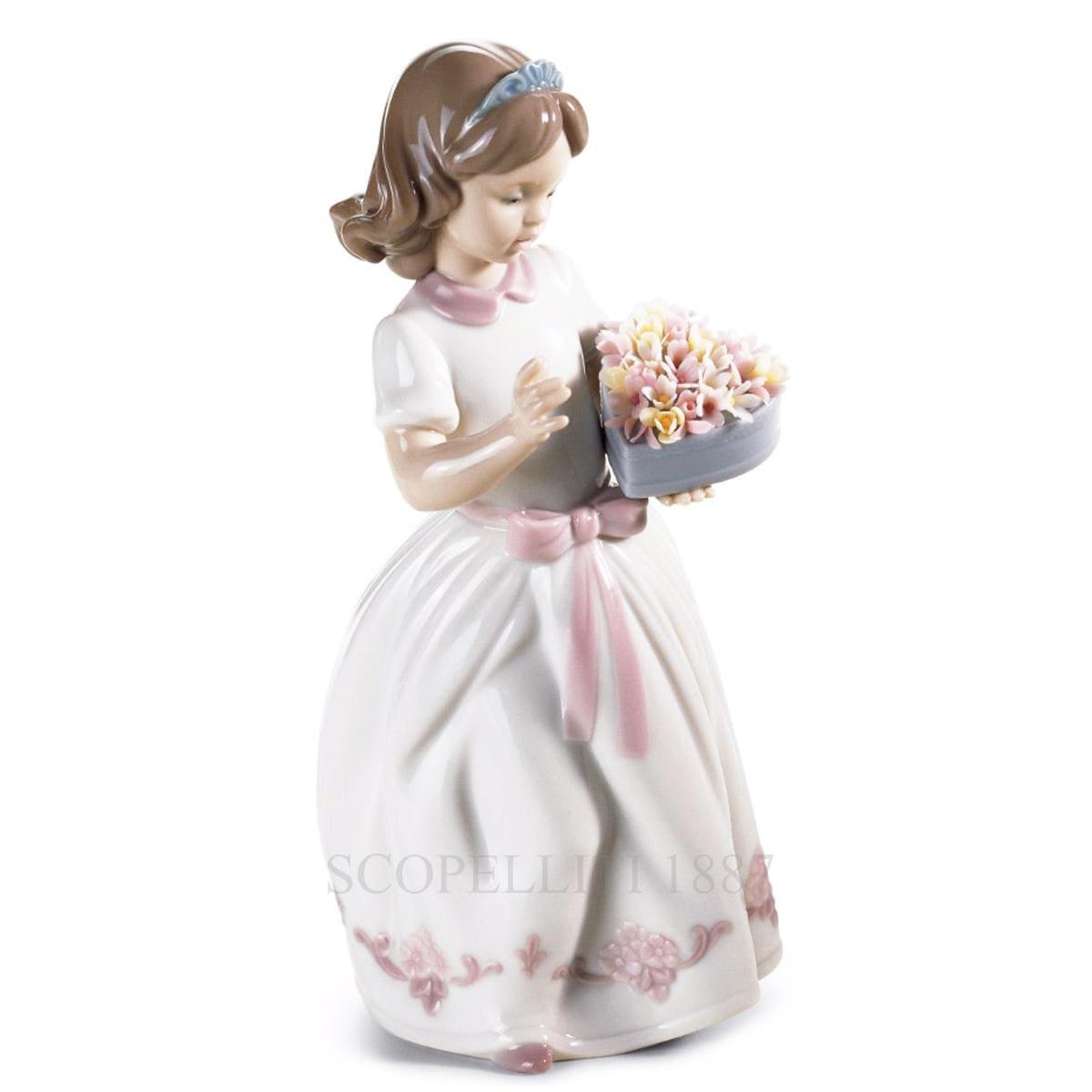 lladro special someone porcelain figurine spanish designer