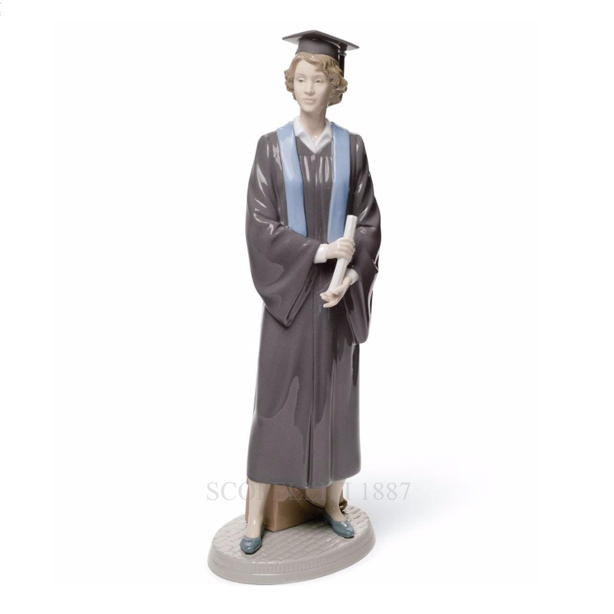lladro her commencement porcelain figurine spanish designer
