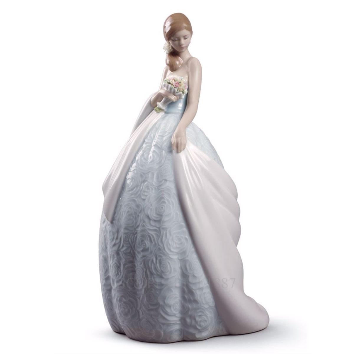 lladro her special day porcelain figurine spanish designer