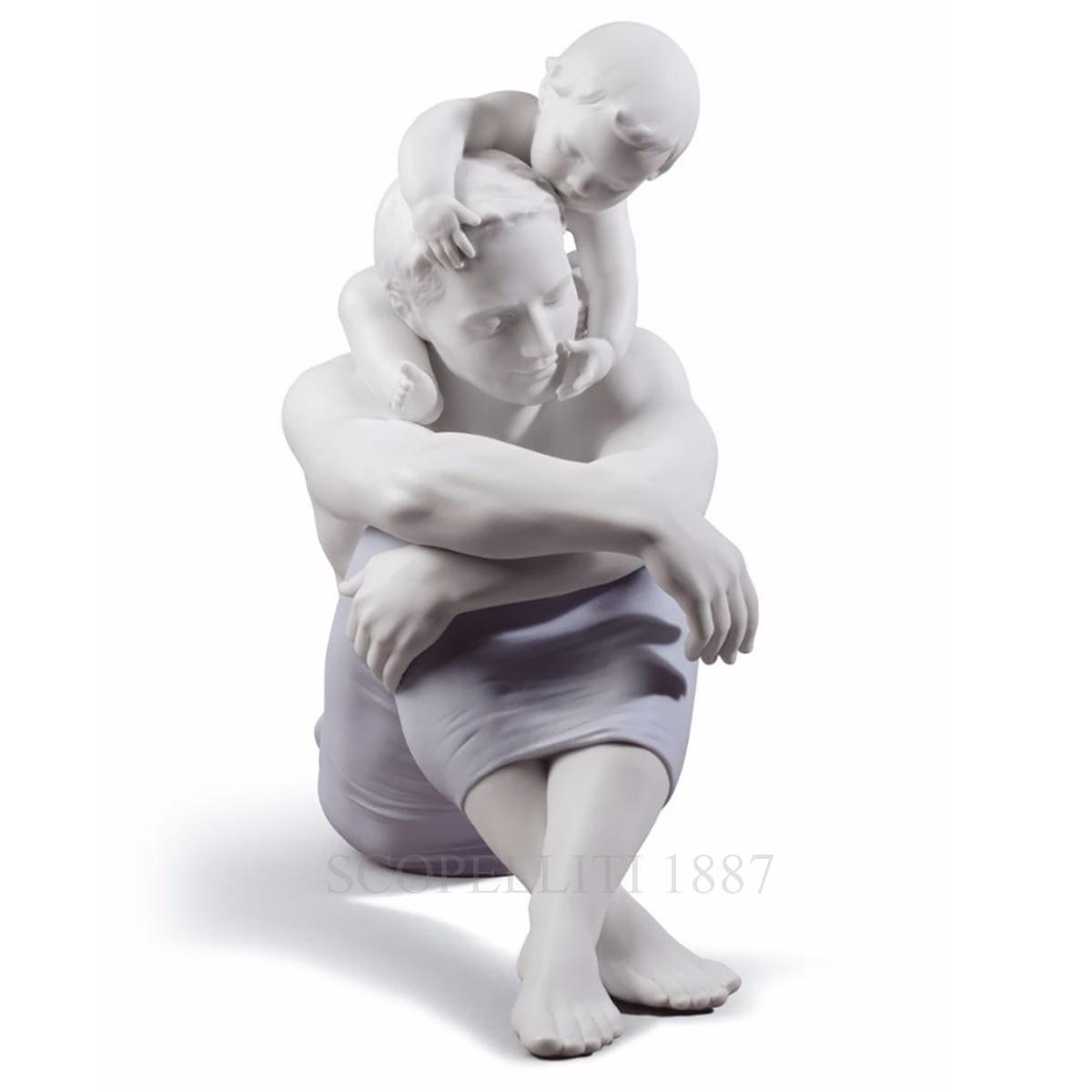 lladro i love you dad porcelain figurine spanish designer