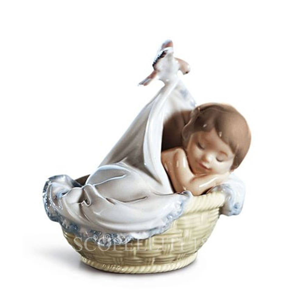 lladro tender dreams porcelain figurine spanish designer